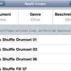 Zahlreiche Loops stehen für die Musikaufnahme zur Verfügung. (Bild: netzwelt)