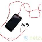 Sind die Kopfhörer mit dem Handy verbunden aktiviert das Sensation XE das Beats Audio-Profil. (Bild: netzwelt)