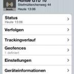 Das Miniprogramm Garmin Tracker ist kostenlos fürs iPhone, für den iPod touch und Android-Geräte verfügbar. (Bild: netzwelt)