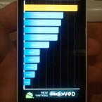 Im ersten Quadrant-Benchmark erreicht das Nozomi LT26i 1.800 Punkte. (Bild: http://justamp.blogspot.com)