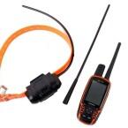 Das Hundeortungssystem wird mit Senderhalsband, Handset und zusätzlicher VHF-Antenne ausgeliefert. Außerdem im Set mit dabei: Gürtelclips, Netzteil, Micro-USB-Kabel und Zigarettenanzünderstecker. (Bild: netzwelt)