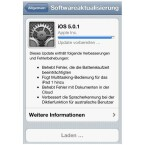 Ist der Download abgeschlossen, wird das Update vorbereitet. (Bild: netzwelt)