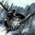 Der Held ist ein Drachenblut und kann die Stärke und Seelen besiegter Drachen in sich aufnehmen. (Bild: Bethesda)