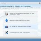 Besonders hilfreich: Der DiskStation Manager führt durch die Einrichtung einzelner Funktionen. (Bild: netzwelt)
