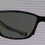 Das bei der Polfiltertechnik entstehende Zeilenraster reduziert bei 3D die Auflösung auf 540 Zeilen. (Bild: netzwelt)