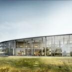 Der neue Campus wirkt sehr grün, beherbergt allerdings ein eigenes Kohlekraftwerk. (Bild: Screenshot/City of Cupertino)