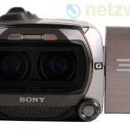 Der Camcorder verfügt über zwei Linsen sowie zwei Bildsensoren und bietet sogar im 3D-Modus einen optischen Zoom. (Bild: netzwelt)