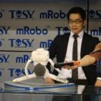 Der mRobo tanzte auf der Präsentation nicht zu einem Bieber-Hit, sondern zu Michael Jackson. (Bild: netzwelt)