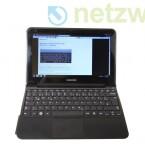 Das kleine Notebook mit 11,6 Zoll großem Bildschirm wiegt nur etwas mehr als ein Kilogramm.