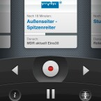 Mit der App Tizi Remote schaltet der Nutzer um, startet eine Aufnahme, reguliert die Lautstärke und pausiert das Programm.