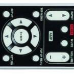 Die Tasten der Fernbedienung leuchten auf Knopfdruck und sind gut lesbar. (Bild: netzwelt)