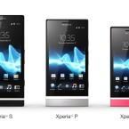 Sony erweitert seine Xperia NXT-Serie um die Modelle Xperia P und Xperia U. (Bild: Sony)
