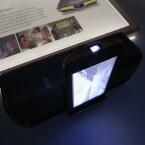 Der Projektor des Galaxy Beam ist 15 Lumen stark. (Bild: netzwelt)
