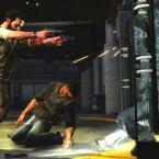 Der Ex-Cop schießt dabei im Stehen... (Bild: Rockstar Games)