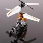 Die Konstruktion des 17 Gramm leichten Helikopters ist durchaus solide. (Bild: netzwelt)