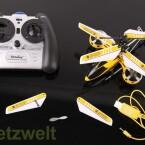 Der GH-245 wird via Infrarot gesteuert. (Bild: netzwelt)