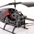 Für rund neun Minuten reicht die Vollladung des Hubschraubers. (Bild: netzwelt)