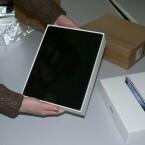 Ein erster Blick auf das neue Apple iPad. (Bild: netzwelt)