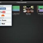 Das Programm bietet nun neben einer Anbindung an den Online-Speicher iCloud die Möglichkeit, Songs direkt im Netz zu veröffentlichen. (Bild: Screenshot Garageband)