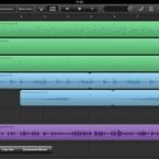 Auch ist es nun möglich Tracks zusammenzuführen, um Kompositionen aus mehr als acht Spuren zu erstellen. (Bild: Screenshot Garageband)