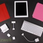 Der Großteil des iPad 2 Zubehör ist kompatibel zum neuen Apple iPad. (Bild: netzwelt)