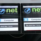 Deutlich schärfer: Das neue Apple iPad mit Retina-Display (rechts). (Bild: netzwelt)