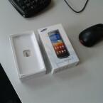 Testbild Samsung Wave 3: Schreibtisch (Bild: netzwelt)