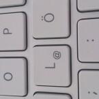 Nahaufnahme einer Notebook-Tastatur abfotografiert mit dem Xperia S. (Bild: netzwelt)
