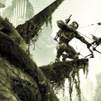 Mit Hightech-Bogen und Nanosuit bewaffnet kämpft der Spieler in Crysis 3. (Bild: Electronic Arts)