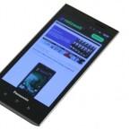 Angetrieben wird das Panasonic Eluga von einem 1-Gigahertz-Prozessor. (Bild: netzwelt)