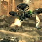 Die Drohne ist mit einem Maschinengewehr ausgerüstet. (Bild: Activision)