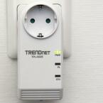 An der Front informieren LEDs über den Betriebszustand. (Bild: netzwelt)