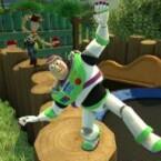 """Auch Woody und Buzz Lightyear haben ihren Auftritt in """"Kinect Rush"""". (Bild: Microsoft)"""