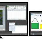 Die Taskleiste erhält in Windows 8 ebenfalls Multi-Monitor-Unterstützung. (Bild: Microsoft)