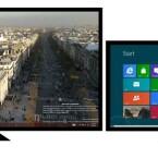 In der Release Preview werden Nutzer bereits von mehreren Monitoren aus auf Metro wechseln können. (Bild: Microsoft)