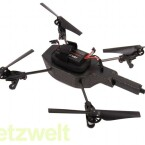 Die Akkuleistung der Drohne reicht für ungefähr zwölf Minuten. (Bild: netzwelt)