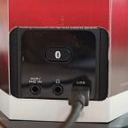 Die Stromversorgung erfolgt über USB. Dank besonders effizienter Verstärkertechnik produzieren die SBX-Lautsprecher auch ohne Netzteil mächtigen Klang. (Foto: Creative)