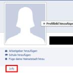 Der erste Schritt, um wieder die gewohnte E-Mail-Adresse anzeigen zu lassen, ist den Info-Bereich des eigenen Profils aufzurufen. (Bild: netzwelt)