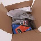 Auf dem Karton selbst weist kaum etwas auf die Fotoqualitäten des Symbian-Handys hin. (Bild: netzwelt)