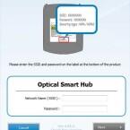Zur Inbetriebnahme dient eine mitgelieferte Software, die dem Brenner die WLAN-Parameter übergibt. (Bild: netzwelt)