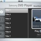 Der DVD-Player ermöglicht das Abspielen einzelner Titel und Kapitel. (Bild: netzwelt)