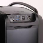 Zwei Audio-, ein eSata-, zwei USB-3.0- und vier USB-2.0-Anschlüsse. (Bild: netzwelt)