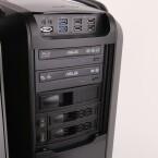 Der Rechner verfügt sowohl über einen DVD- als auch einen Blu-ray-Brenner. (Bild: netzwelt)