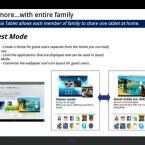 Der Nutzer kann einen Gast-Zugang auf dem Tablet-PC mit eingeschränkten Rechten einrichten. (Bild: xperiablog.net)