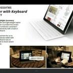 Sony zeigt jede Menge Zubehör zum Tablet-PC. (Bild: xperiablog.net)
