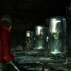 Ada trifft auf serientypische Brutkästen. (Bild: Capcom)
