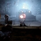 Serienneuling Jake Muller bekämpft Zombies bei eisigen Temperaturen. (Bild: Capcom)