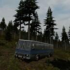 """Ungarischer Bus der Marke Ikarus. (Bild: Dean """"Rocket"""" Hall)"""
