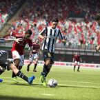 Juventus vs. Milan. (Bild: EA Sports)