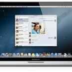 In Mountain Lion steht auch die von iOS bekannte Nachrichten-App zur iCloud-Nutzung zur Verfügung. Die entsprechende Option richtet man sich im Programm selbst ein. (Bild: Apple)